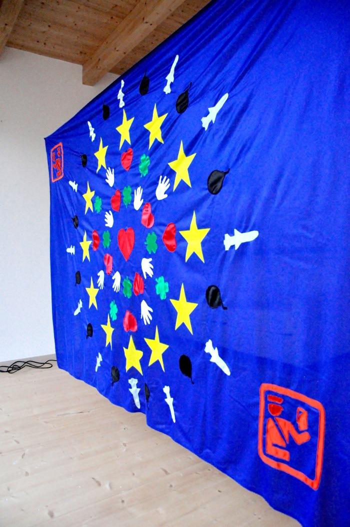 Studio per bandiera europea, 2015 - Courtesy of Pablo Mesa Capella