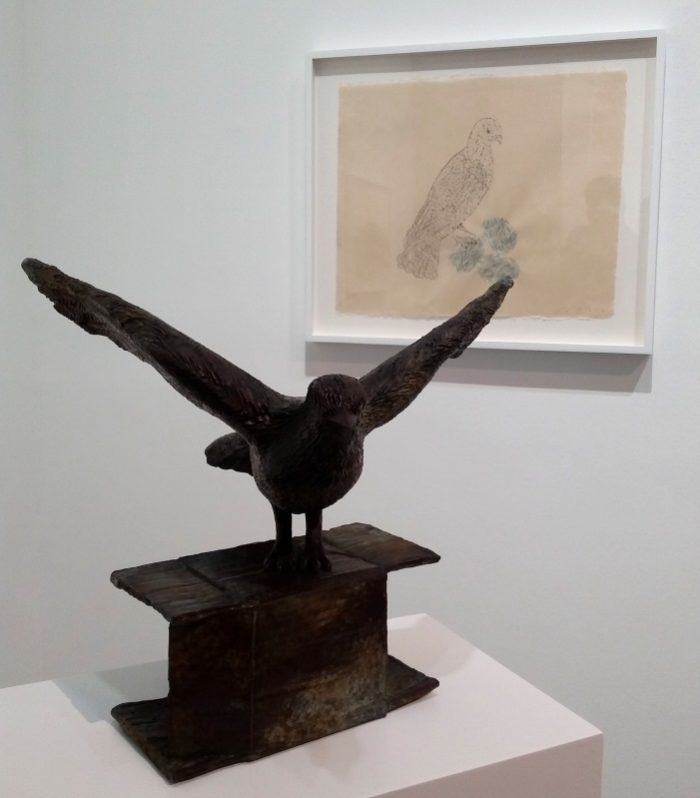Kiki Smith, installation view