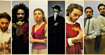 """Il cast di """"Anima"""" - Compagnia Teatrale Oneiron"""