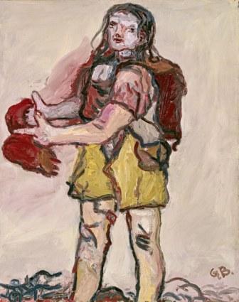 """Georg Baselitz, """"Untitled"""", 1965 (Foto Jochen Littkemann)"""